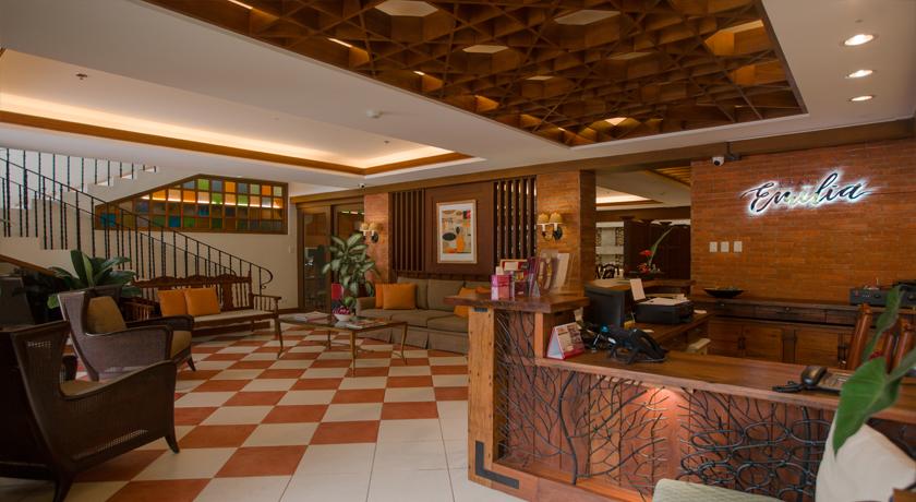 Hotel Emilia Visitors Lounge